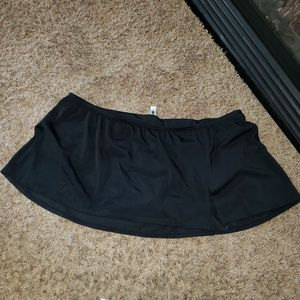 CACIQUE SWIM LANE BRYANT SWIM SKIRT BOTTOM ONLY